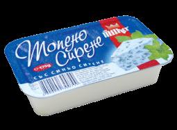 """Топено сирене """"Милкер"""" - Синьо сирене 170гр"""