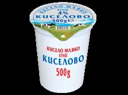 "Кисело Мляко ""Киселово"" 4%"