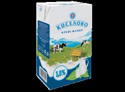 """Прясно Мляко """"Киселово"""" 1.5%"""
