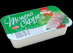 """Топено сирене """"Милкер """"– Шунка 170гр"""